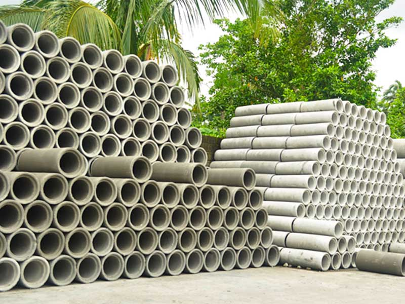 Concrete Pipe Plant : Popular concrete pipes industries